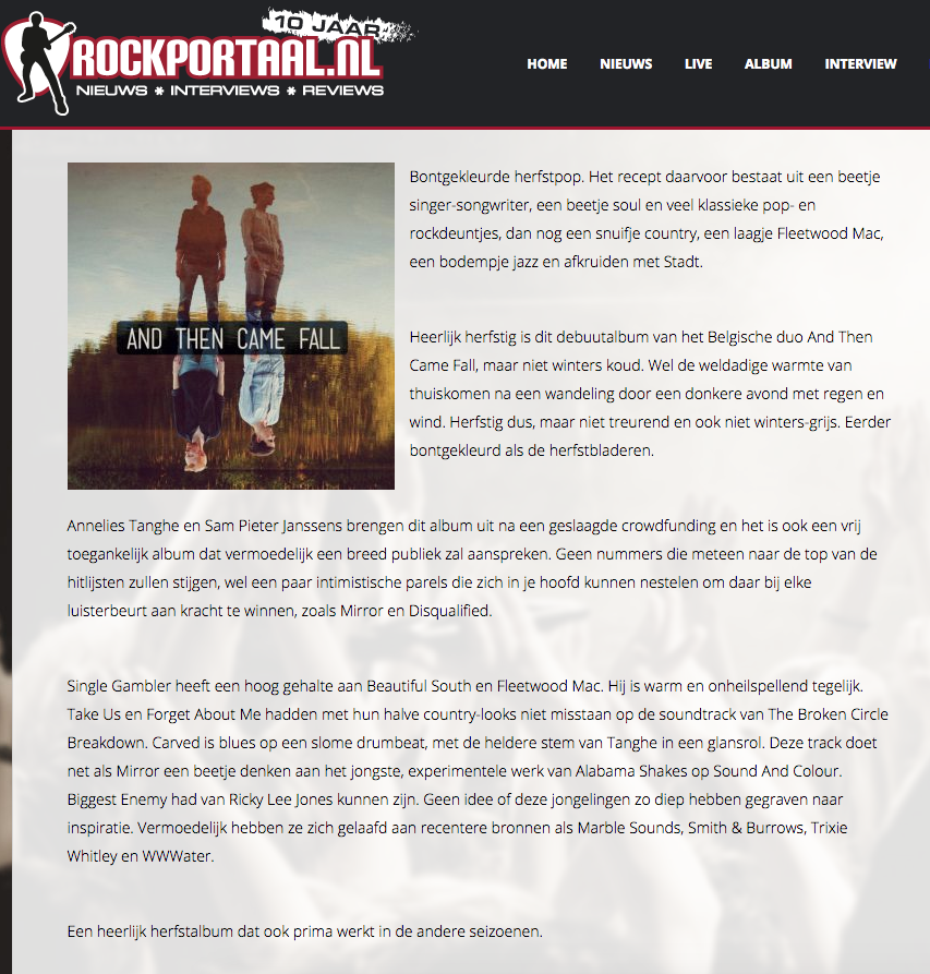 Rockportaal.nl • review