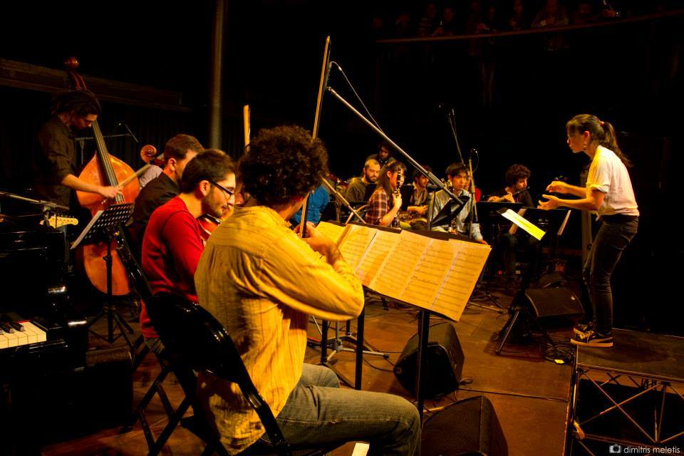 Playing live-electronics with an orchestra at Codarts the University of Arts