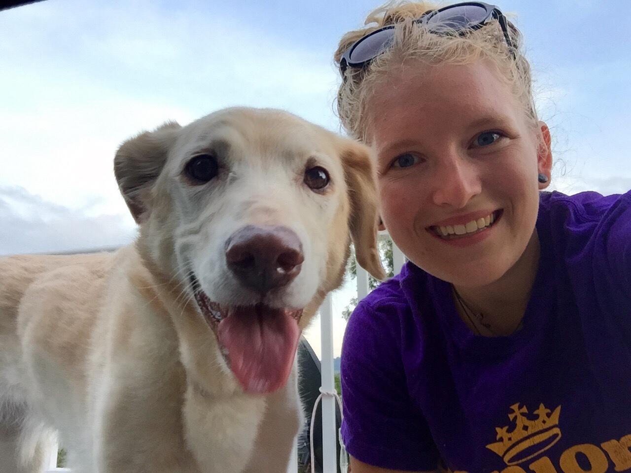 Rescued Shelter Dog