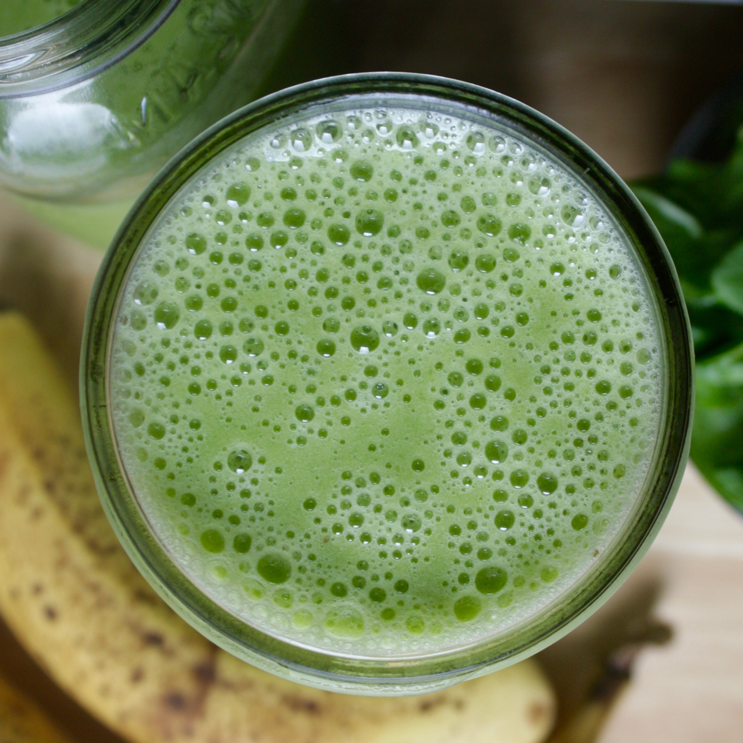 Post Holiday Green Smoothie