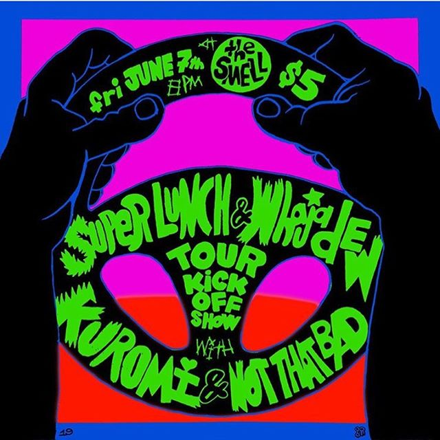 Friday At the smell for its all going down classic vibes. Love ya. Be safe out there happy pride :3 #show #rockshow