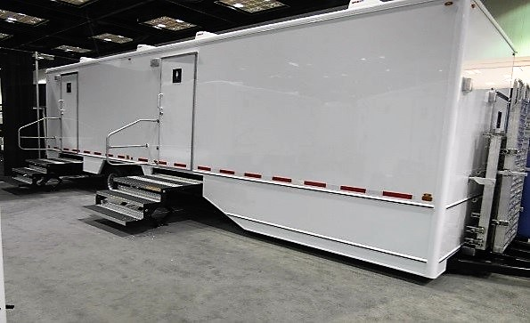 10 Stall Handicap Accessible Restroom Trailer Exterior
