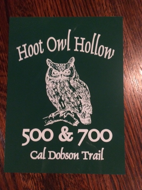 laser engraved anodized aluminum sign