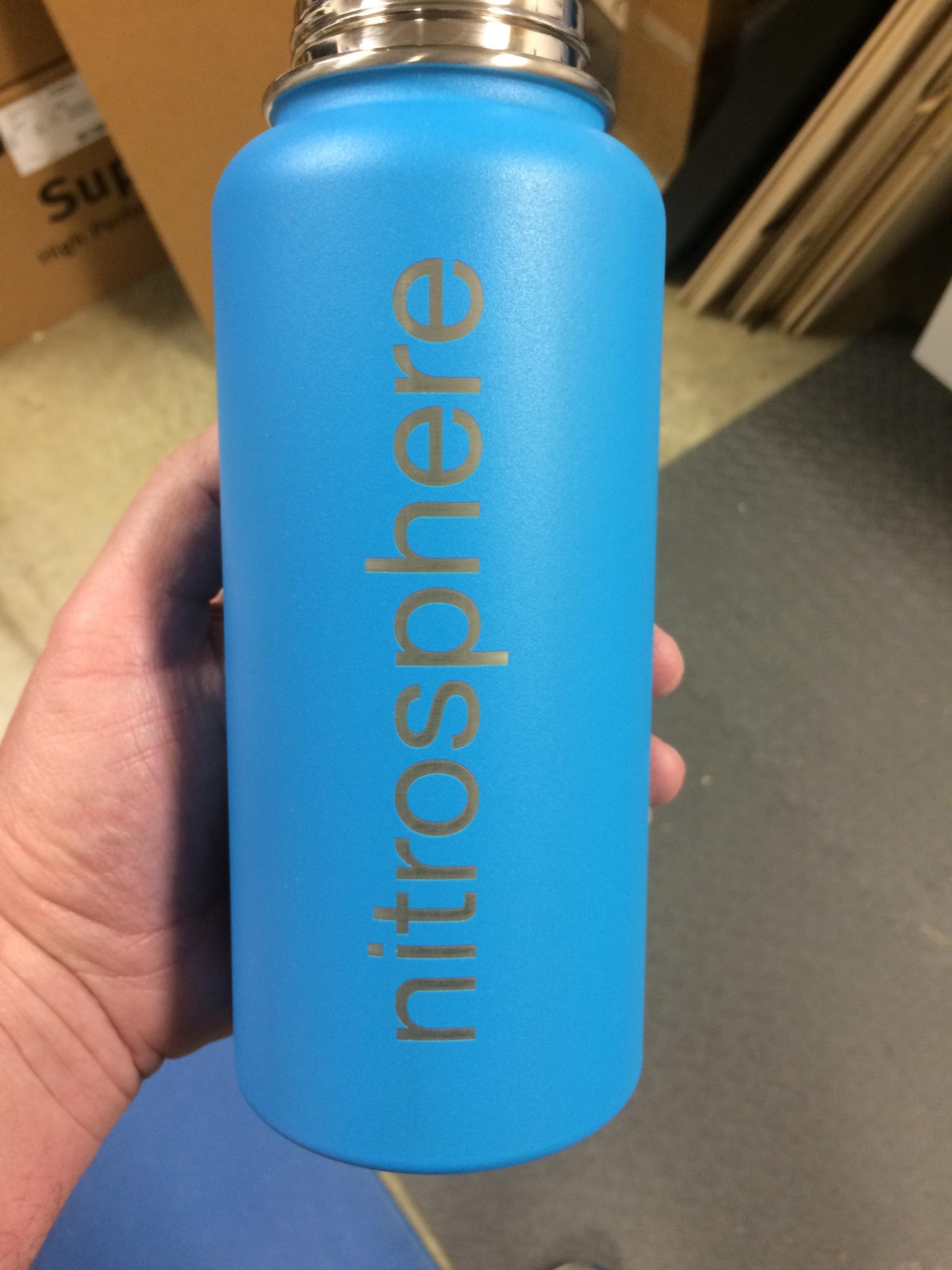 laser engraved hydro flask