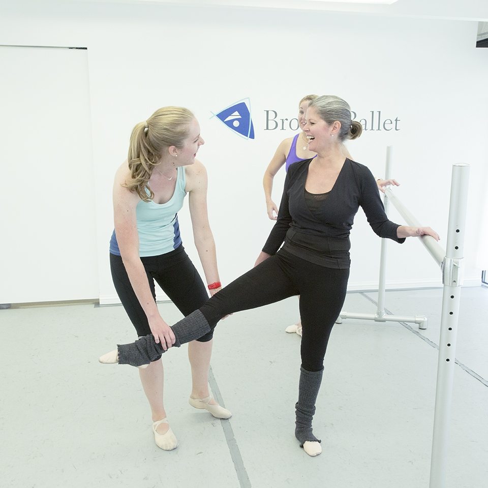 adult ballet after a break