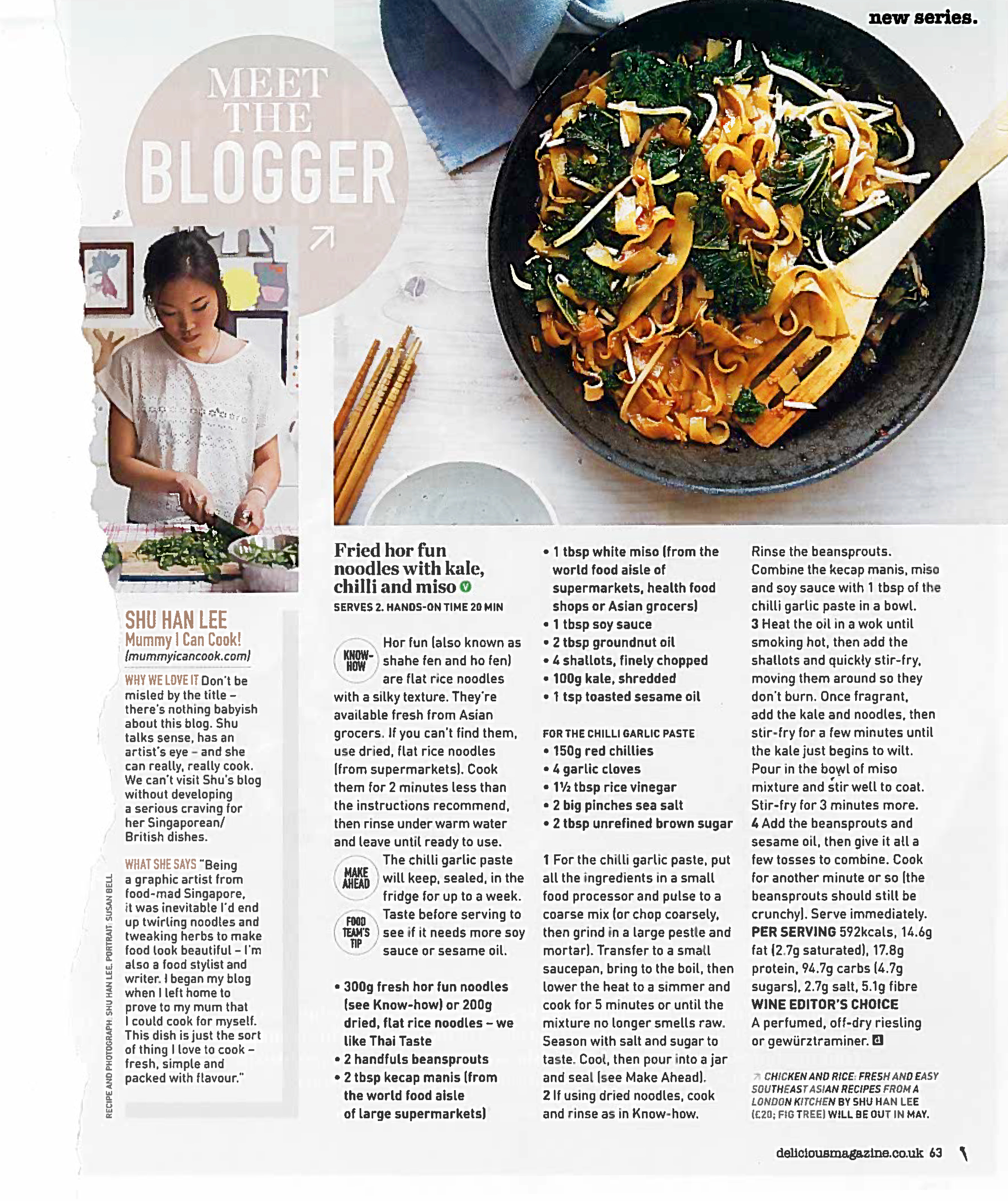 Delicious Magazine, January 2016