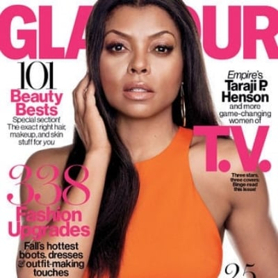 Glamour October 2015 Cover: Taraji P. Henson