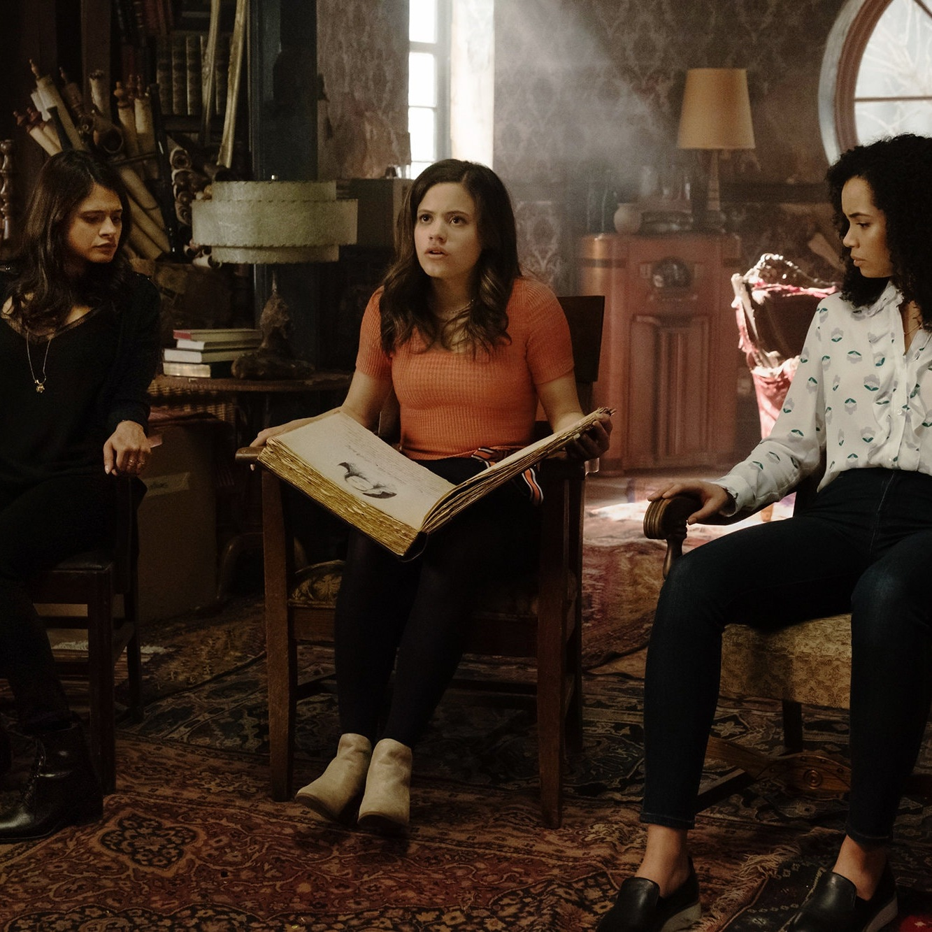 The New York Times The Witches of 'Charmed' Are Out to Slay the Patriarchy