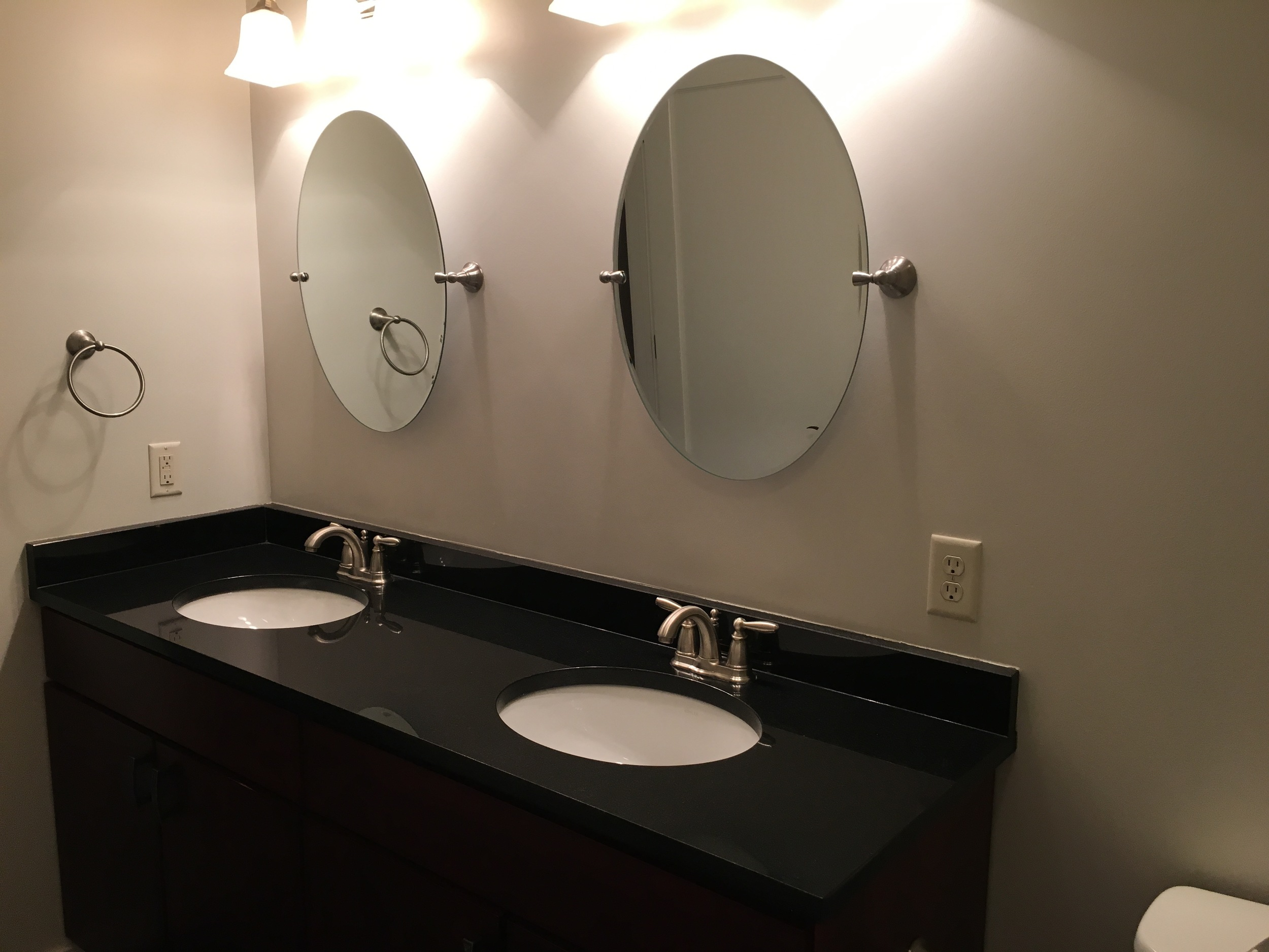 A sink for each of us! (I use both...)