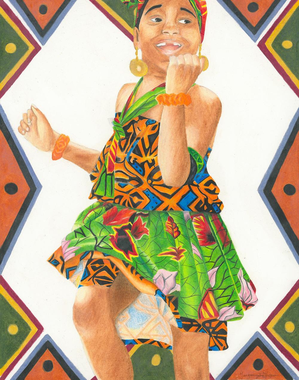 Copy of Little African Dancer