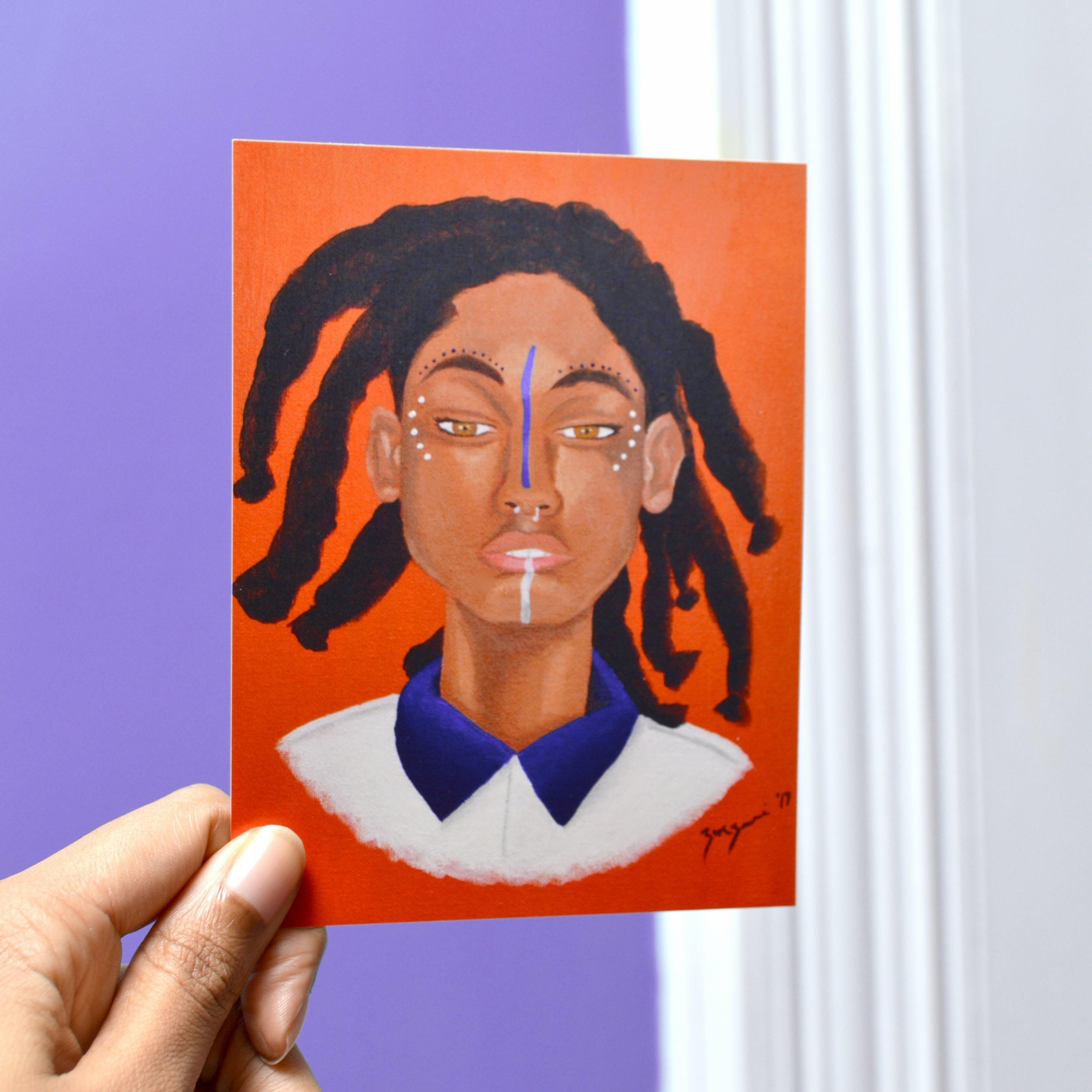 Face Paint Mini Print