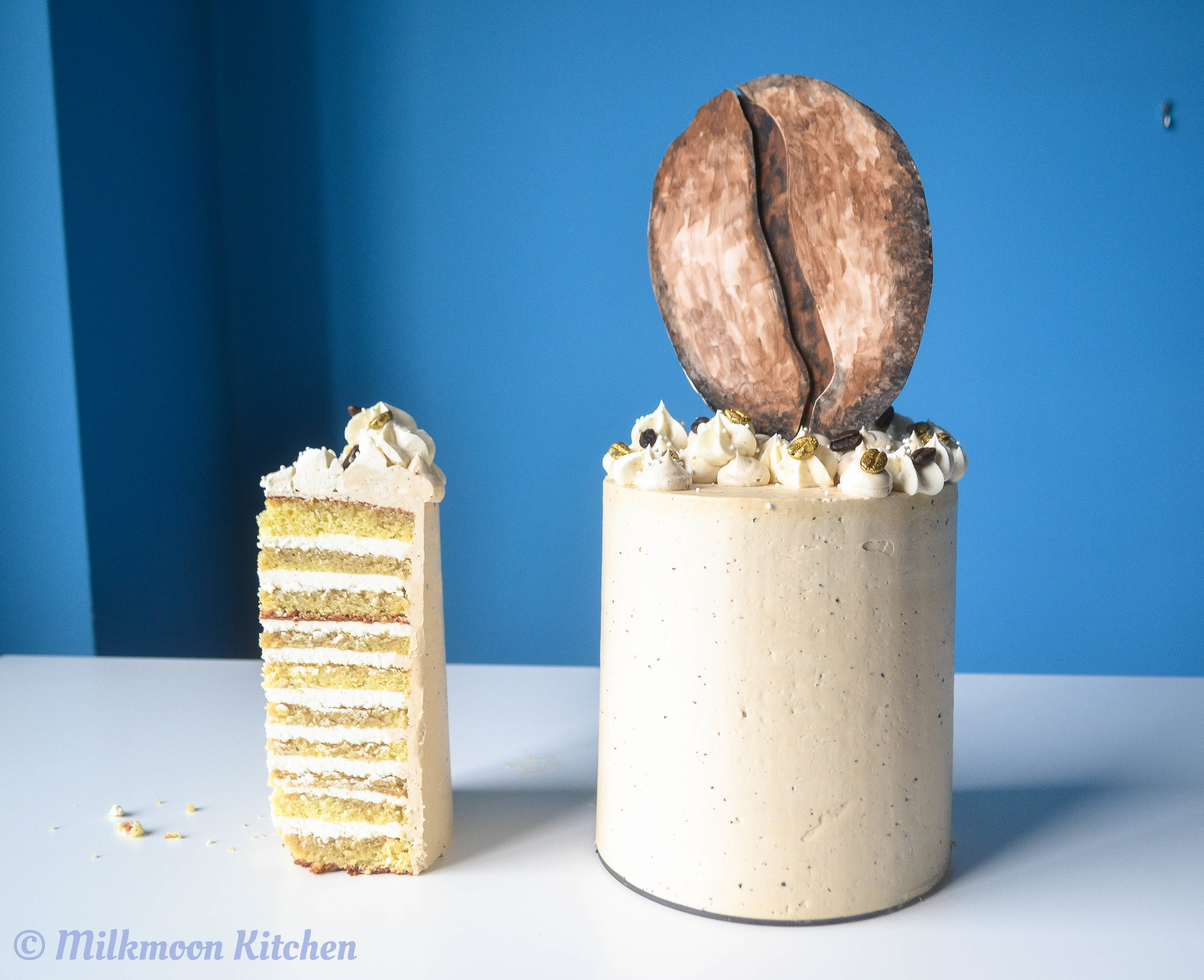 Cold Brew Tiramisu Layer Cake by Milkmoon Kitchen