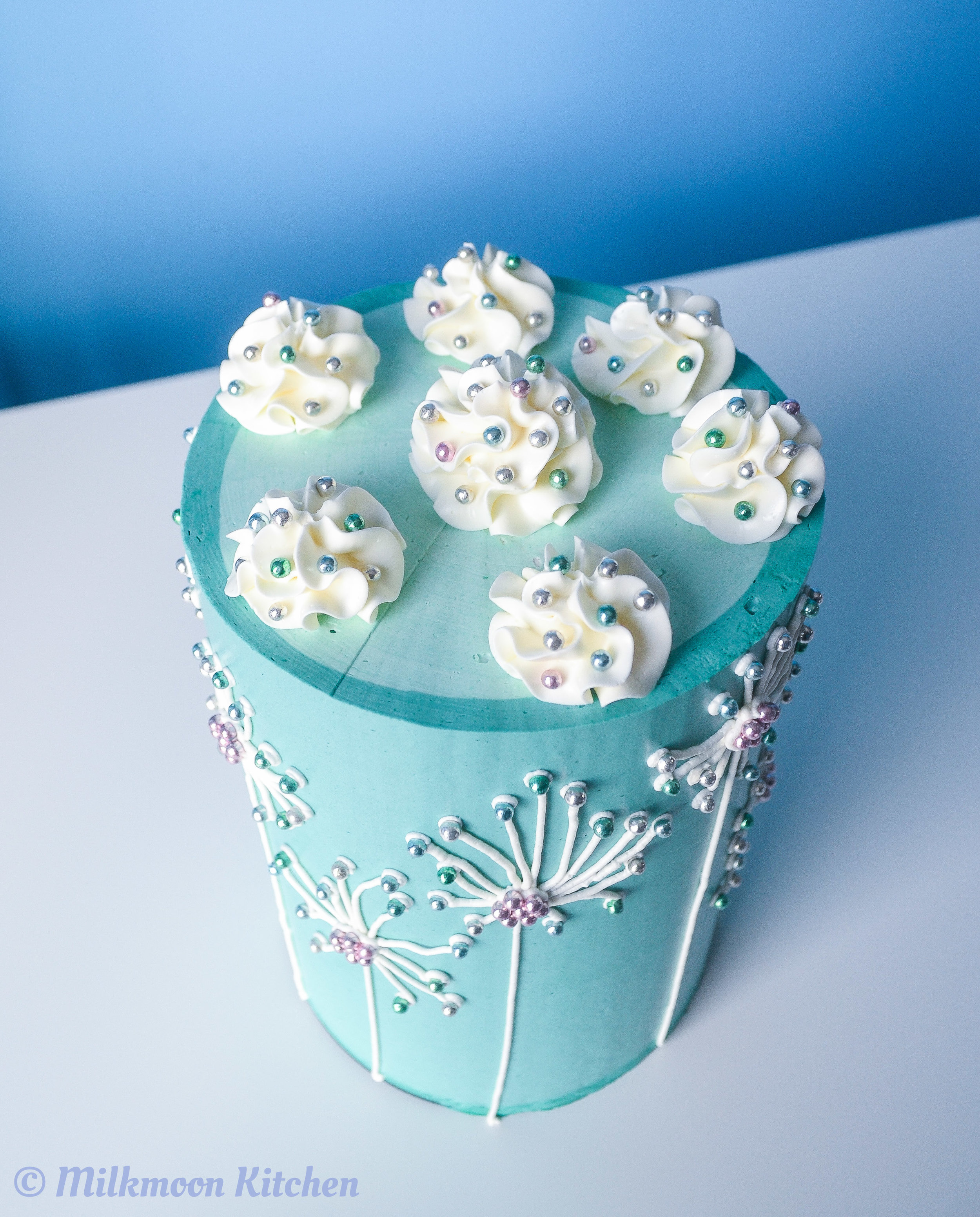 Dandelion Cake by Milkmoon Kitchen