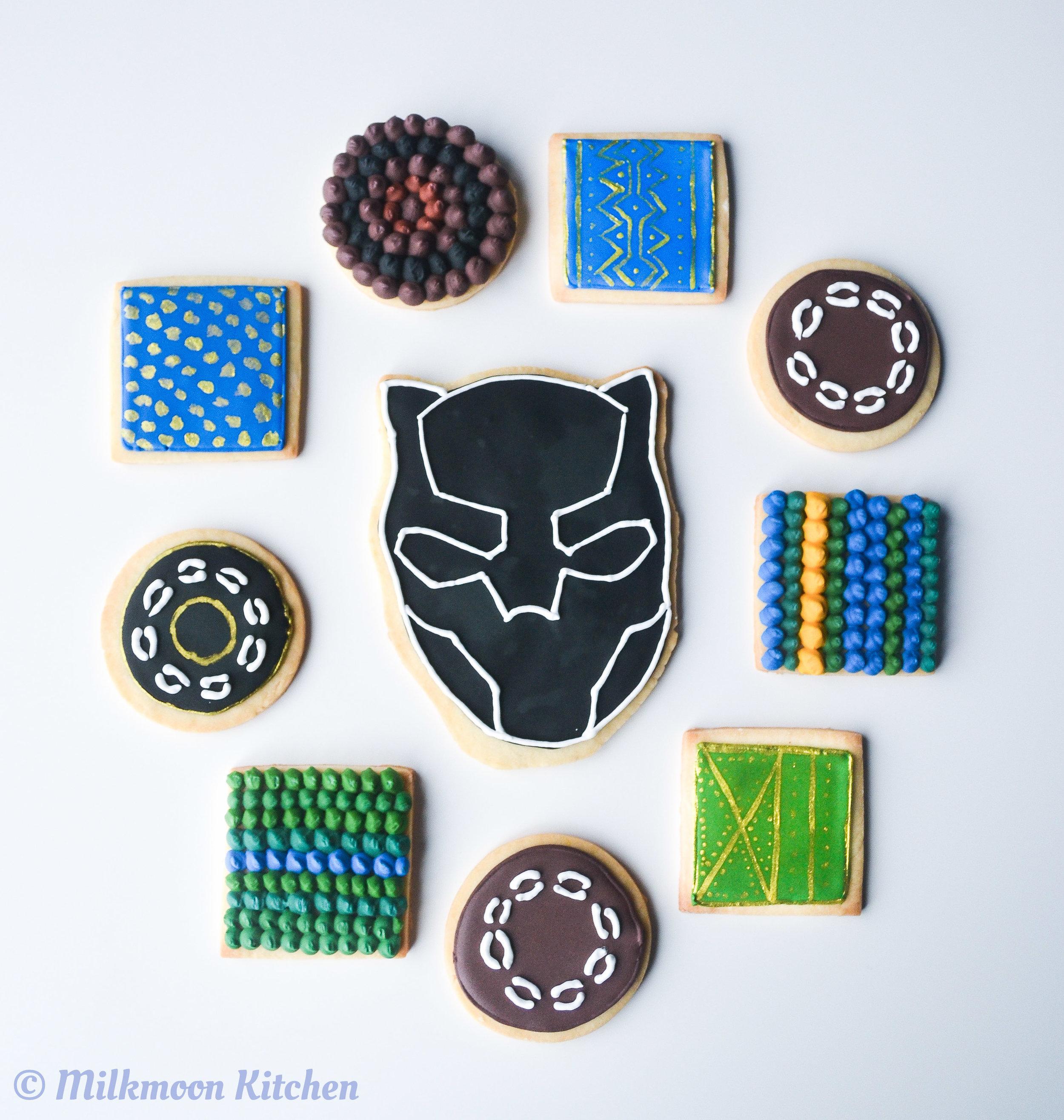 Black Panther Cookies Edited (1 of 1).jpg