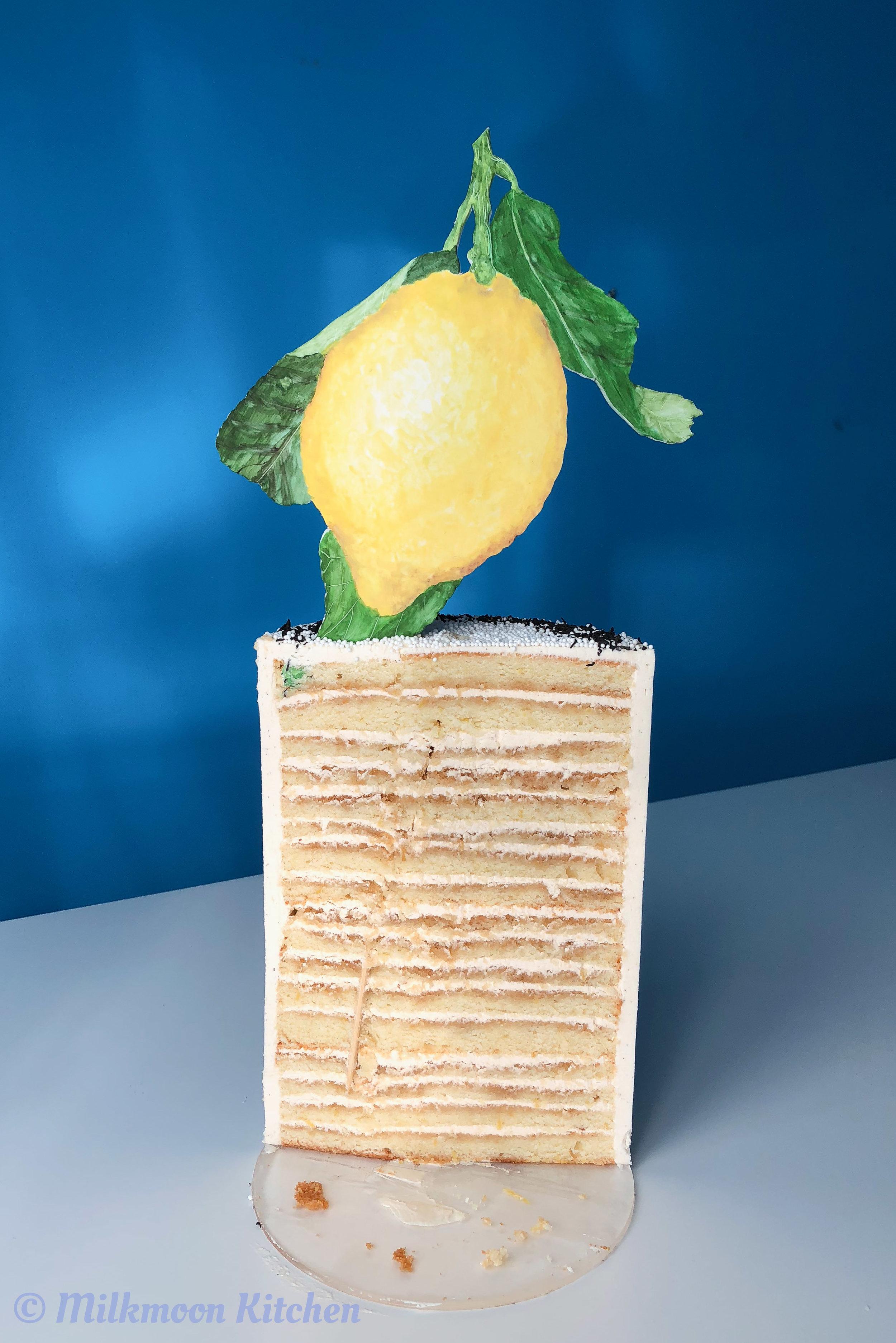 Lemon Black Tea Cake by Milkmoon Kitchen