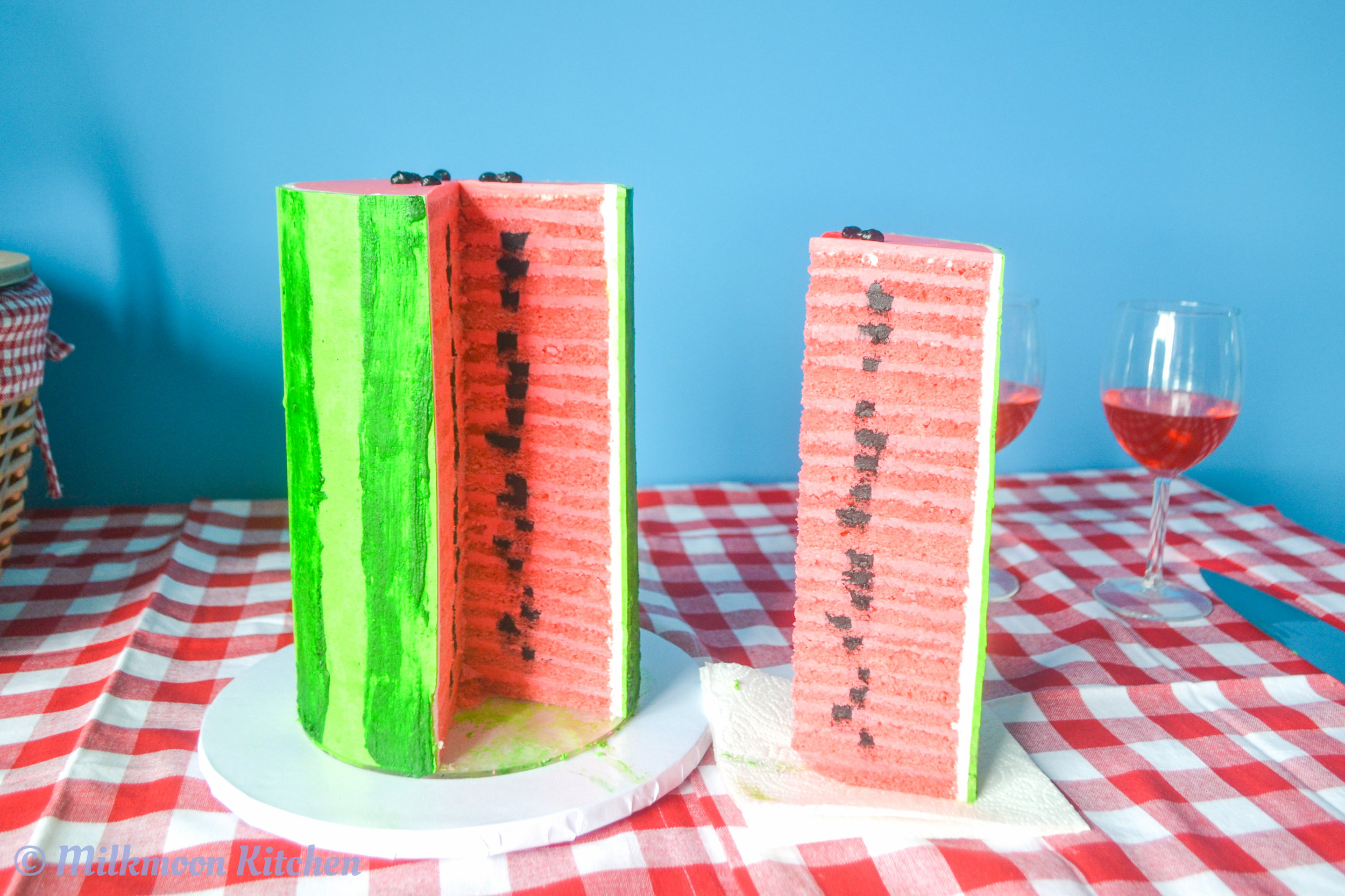 Watermelon Cake by Milkmoon Kitchen