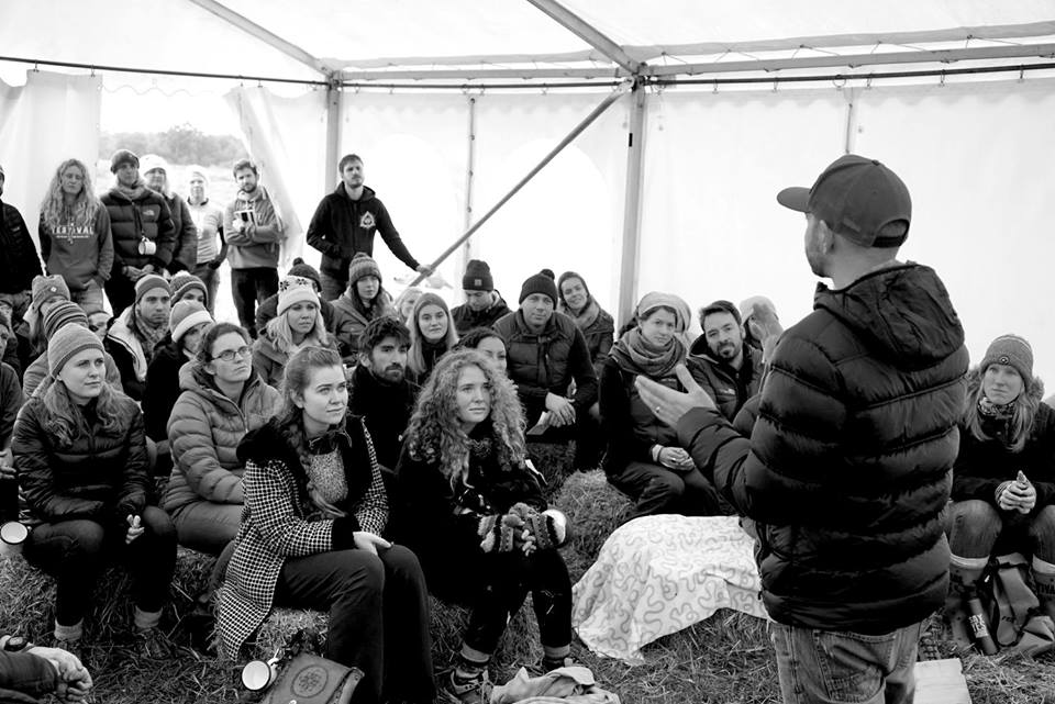 Dan sharing his ambitions for the first time at Yestival 2016
