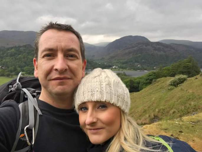 Me and Andy became a couple in the Lake District…..