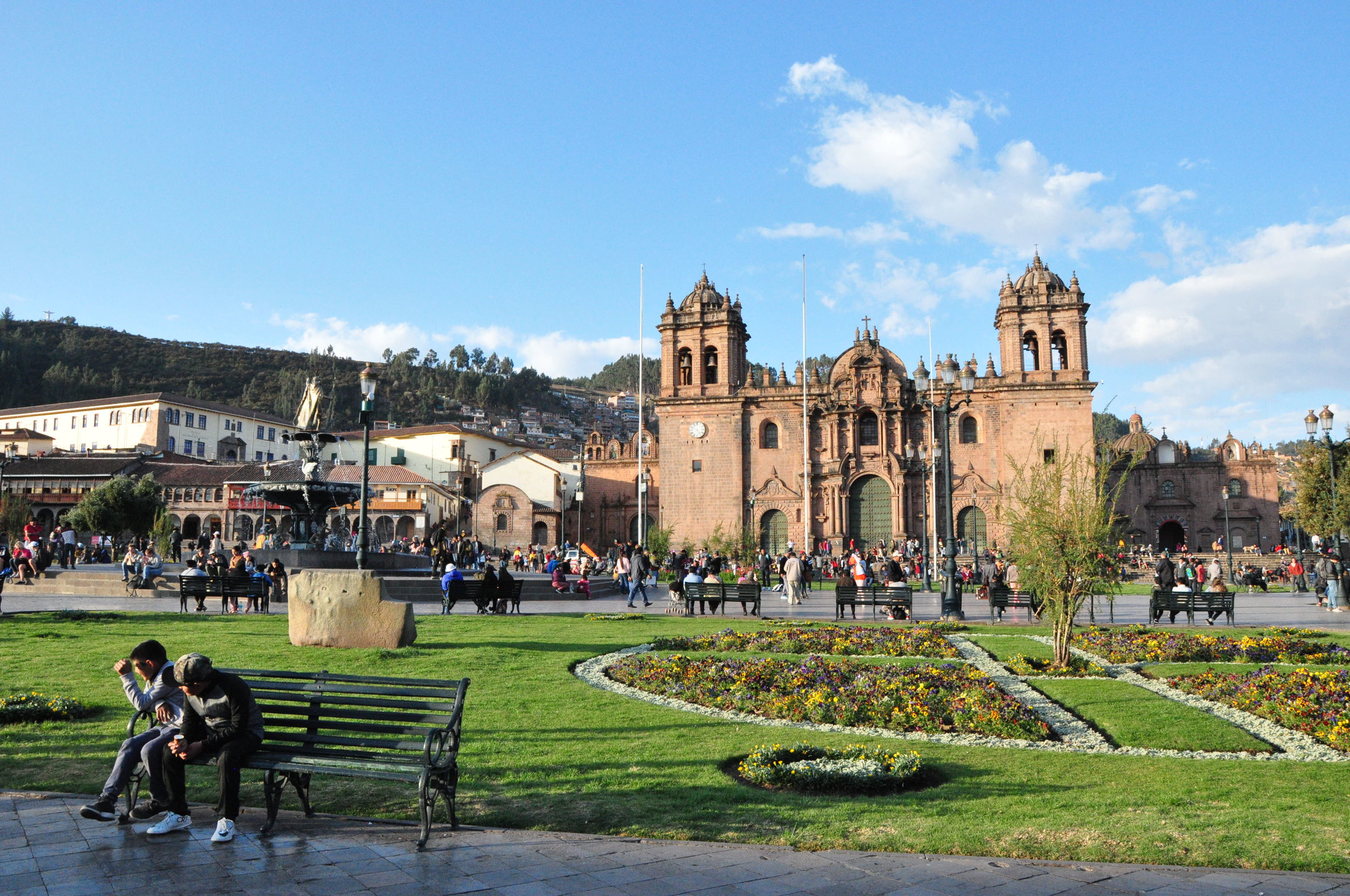 The Main Square in Cusco