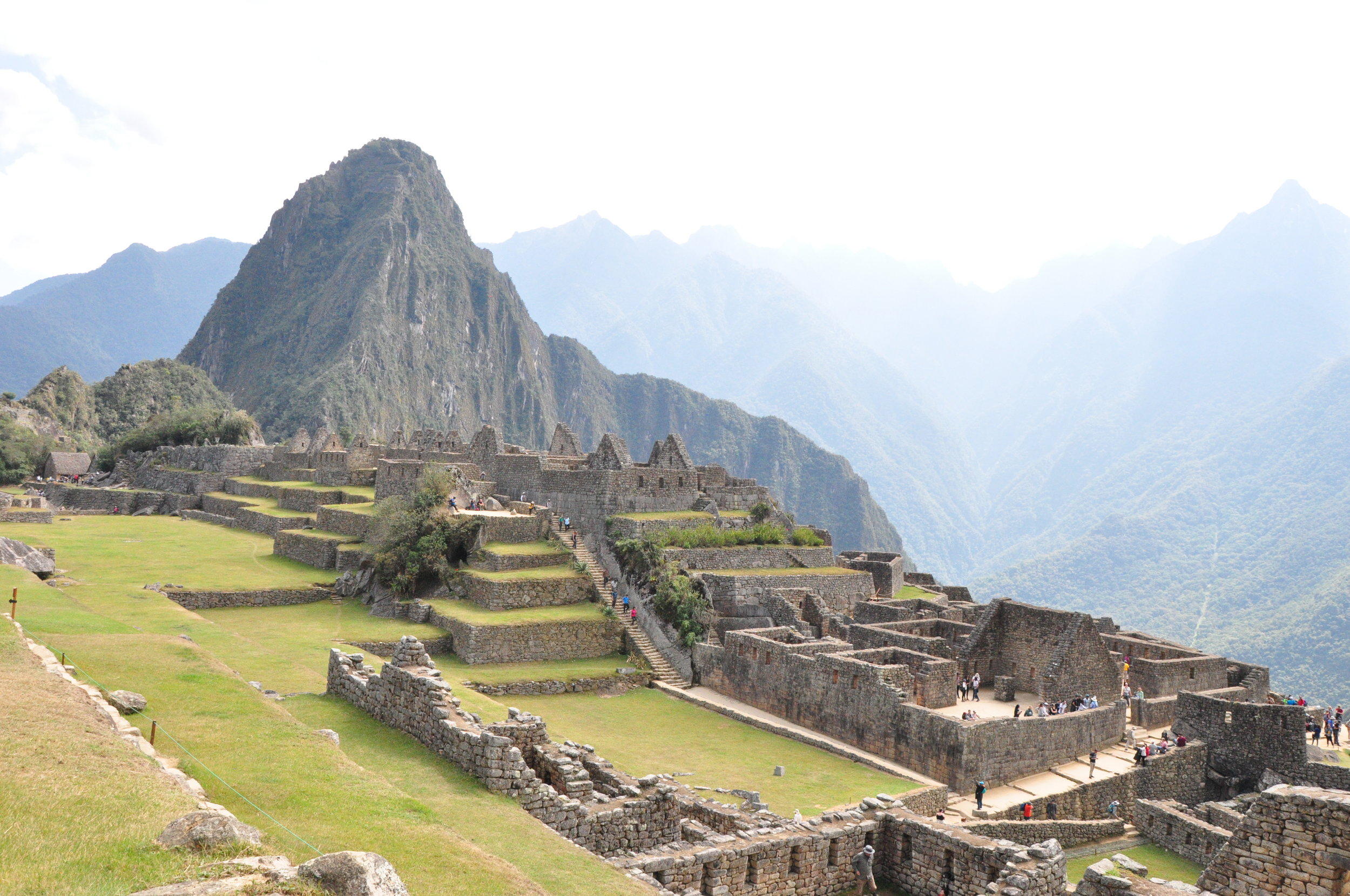 15th century Inca citadel located on a mountain ridge above the Sacred Valley.