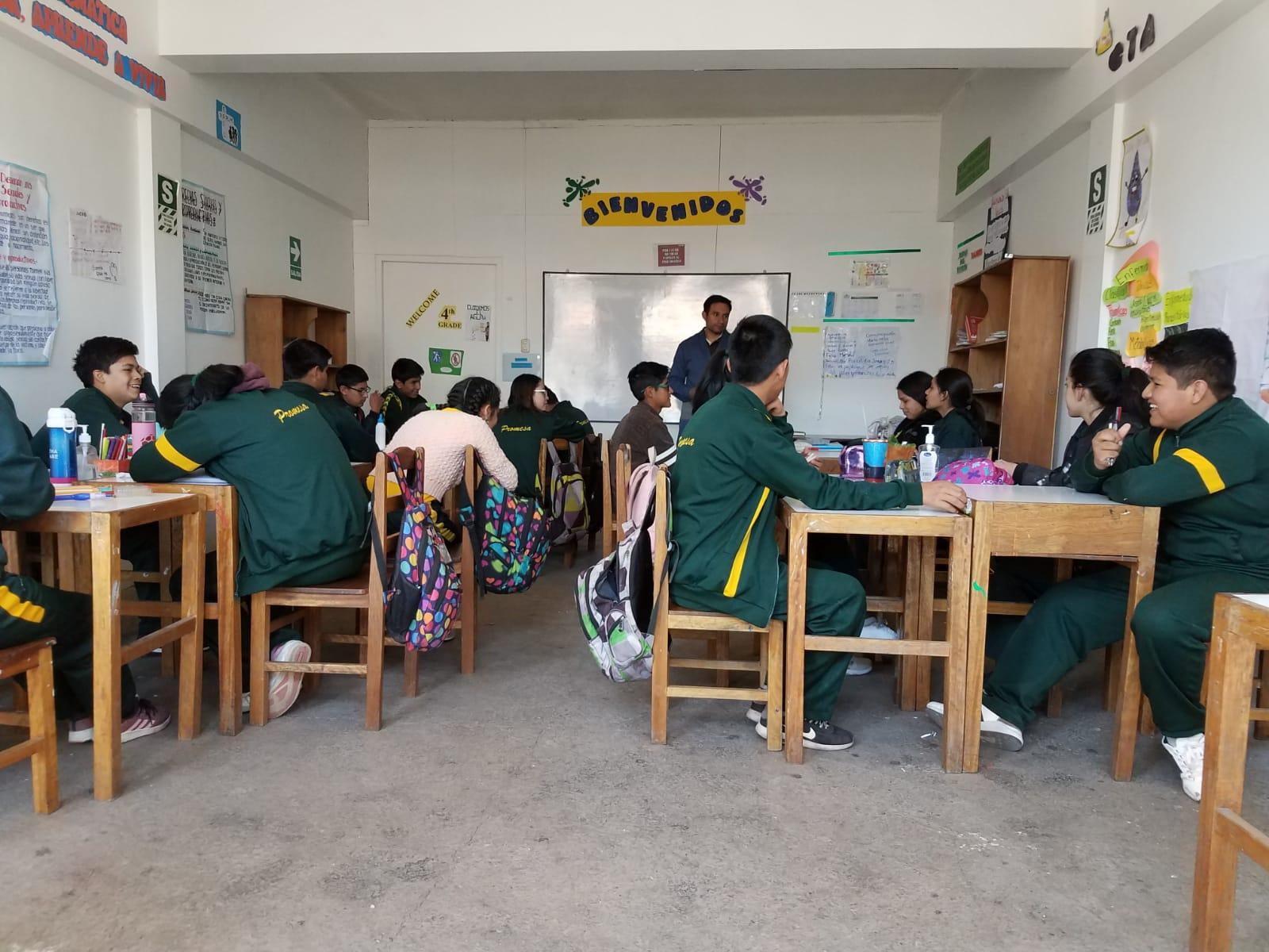 High school class