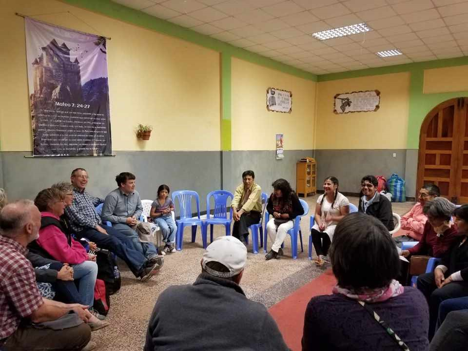 Time spent with the national Peruvian Mennonite Church leadership team
