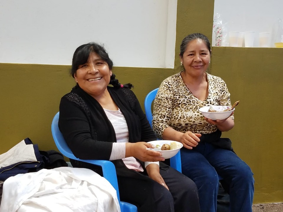 Cooks, Valeria and Francisca