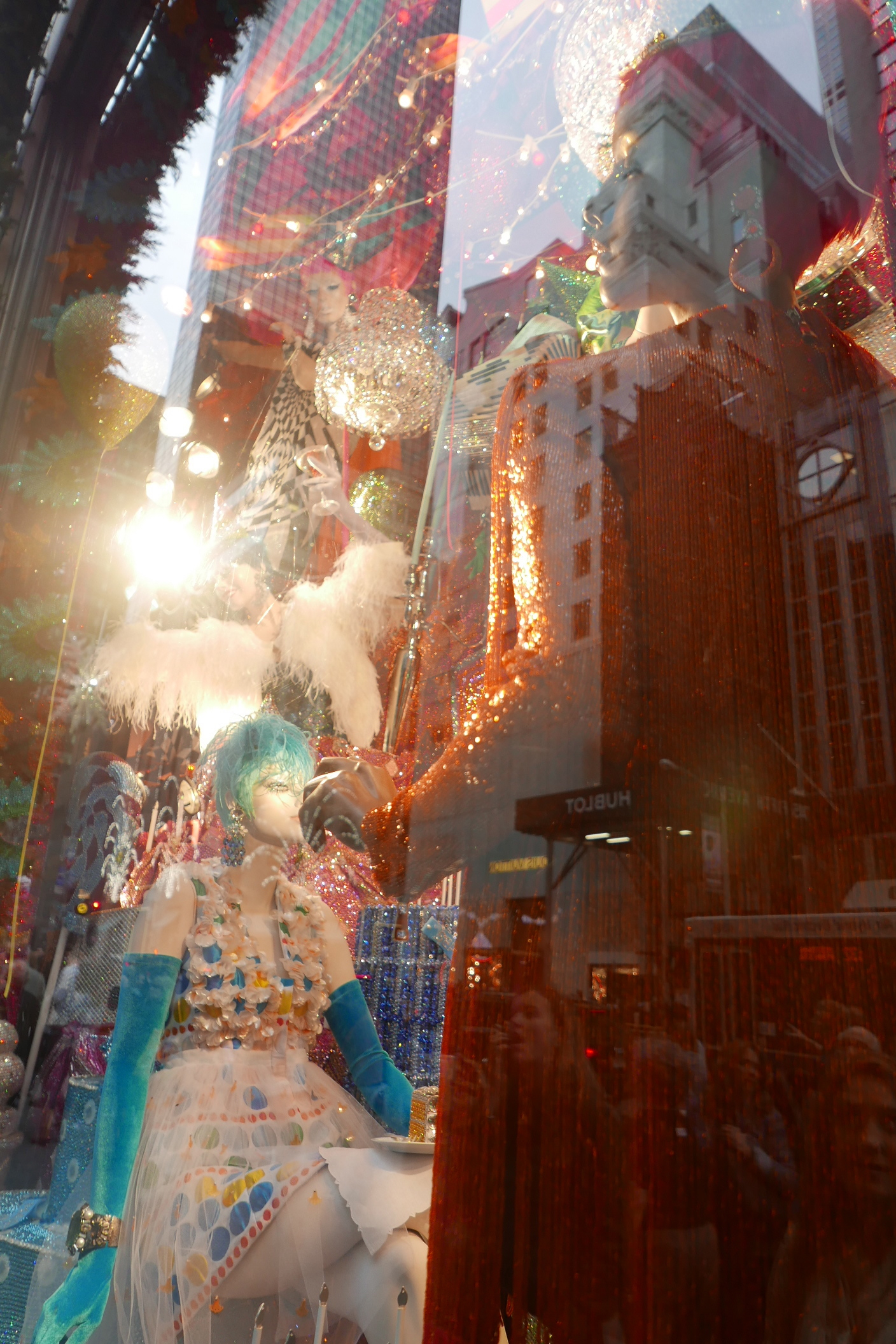 Christmas Window no.1 / Single exposure, digital photography
