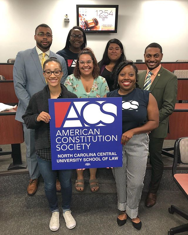 We are excited to begin highlighting students and events for the 2018-19 school year!  The American Constitution Society will be having an interest meeting on September 12 at noon.  #legeagles #ncculaw #durhammaroons