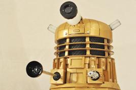 The finished Dalek.