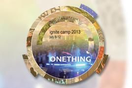 2013 ignite camp logo.