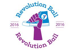 The 2016 Revolution Ball Logo.