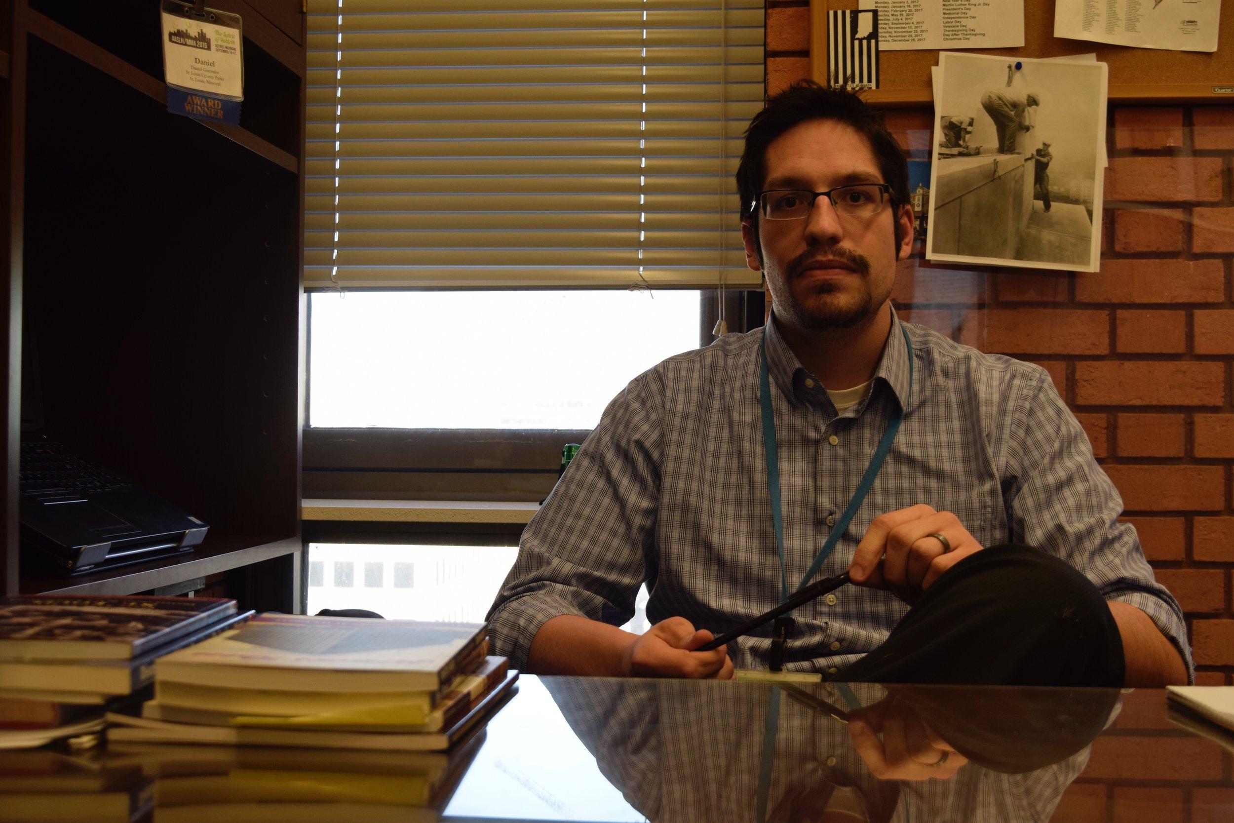 Daniel Gonzales,  St. Louis County Historian