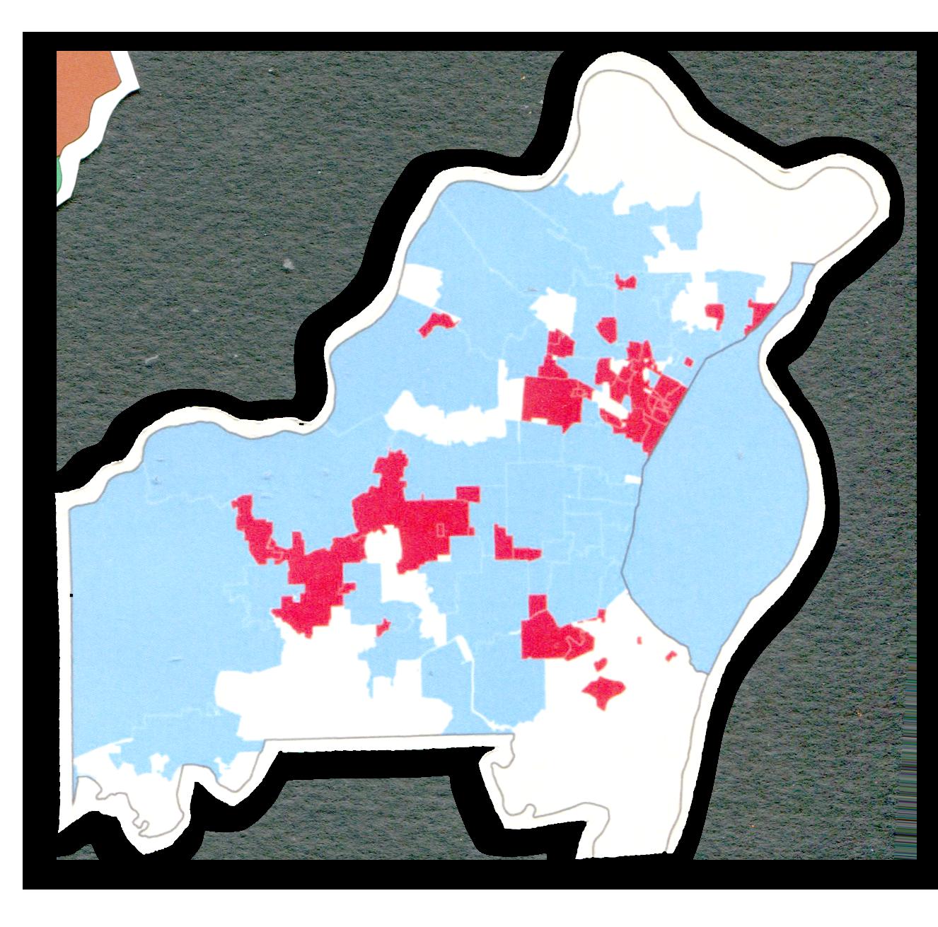 St. Louis, Debt map