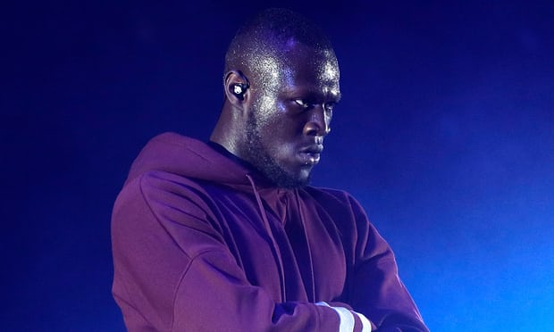 The only picture The Guardian could find of Stormzy.