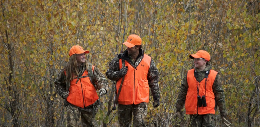 GET SOMEONE STARTED IN HUNTING