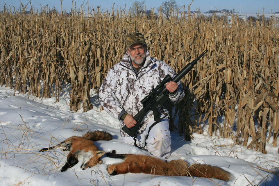 HOW TO HUNT ALL YEAR ROUND   If you enjoy hunting, there's always a season open on something. While deer and most big game seasons are closed or winding down, midwinter is when coyote hunting comes to a peak. There are also snow geese seasons, rabbits to pursue, wild boar to chase, and crows to kill.