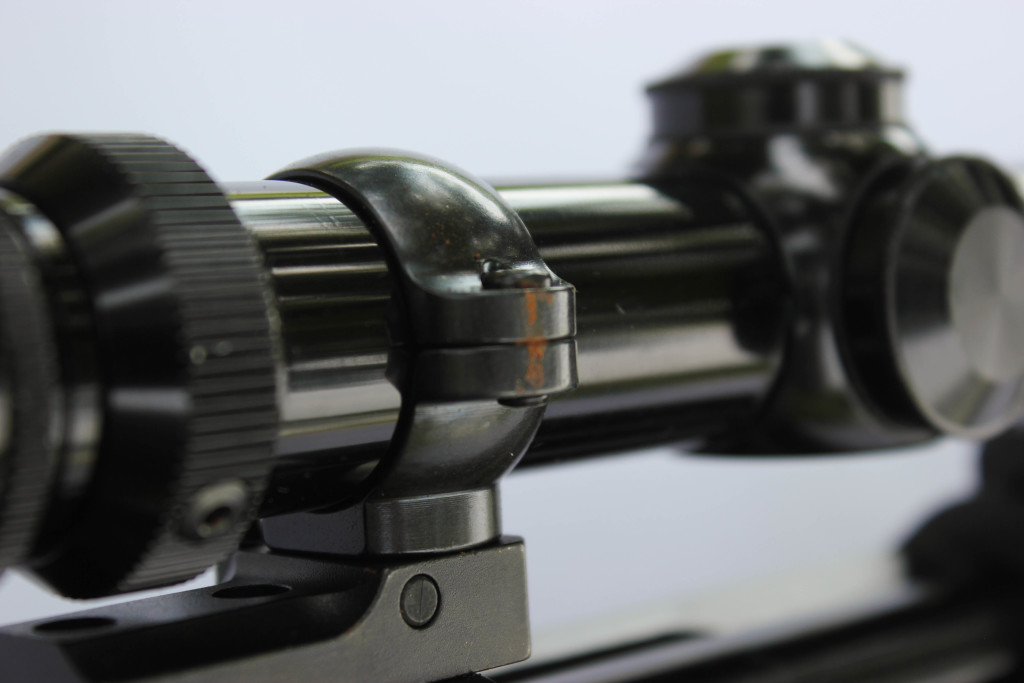 Most scopes require rings and bases to be mounted. The bases are mounted first, and then the rings are put in place. When the scope is properly aligned you can tighten everything down to be sure it is secure.