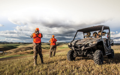 ATV AND SIDE-BY-SIDE SAFETY IN THE OUTDOORS   ATVs and Side-by-Side (SxS) vehicles are common place in hunting camps, whether you're after whitetail or mule deer, turkeys or mallards, elk or antelope. Matter of fact, many hunters use them year-round for scouting, food plotting and recreational riding. These tough and versatile off-road vehicles help outdoorsmen reach remote areas and favorite hunting spots while carrying in gear and hauling out game.
