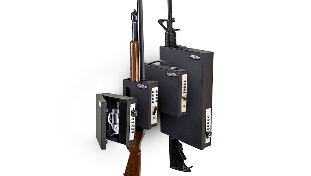 SHOTLOCK: KEEP YOUR FIREARM CLOSE, SECURE AND READY    As a firearms owner, you are excited about hunting, and probably own more than one shotgun, and maybe even a handgun or two. Shooting is something you love to do, and each firearm you own has a specific purpose, and a place.
