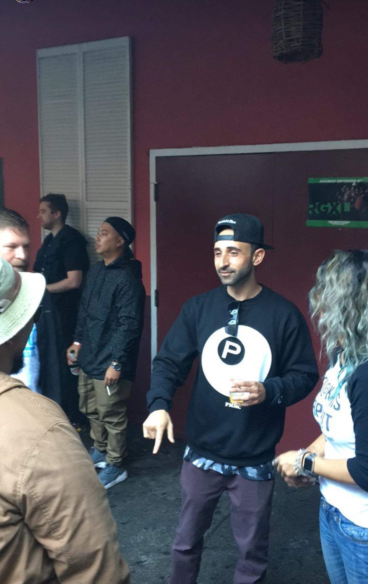 At DMC Finals, Oakland, CA