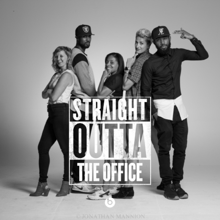 JH Straight outta the office
