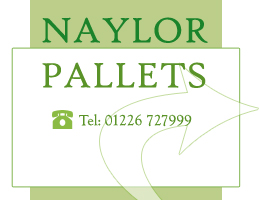 - Naylors Timber are one of the leading recyclers of wooden pallets in the country.  They have made a substantial donation to help our work.