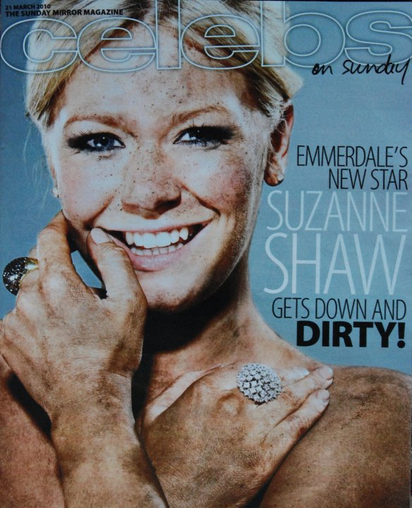 Suzanne Shaw for Celebs on Sunday