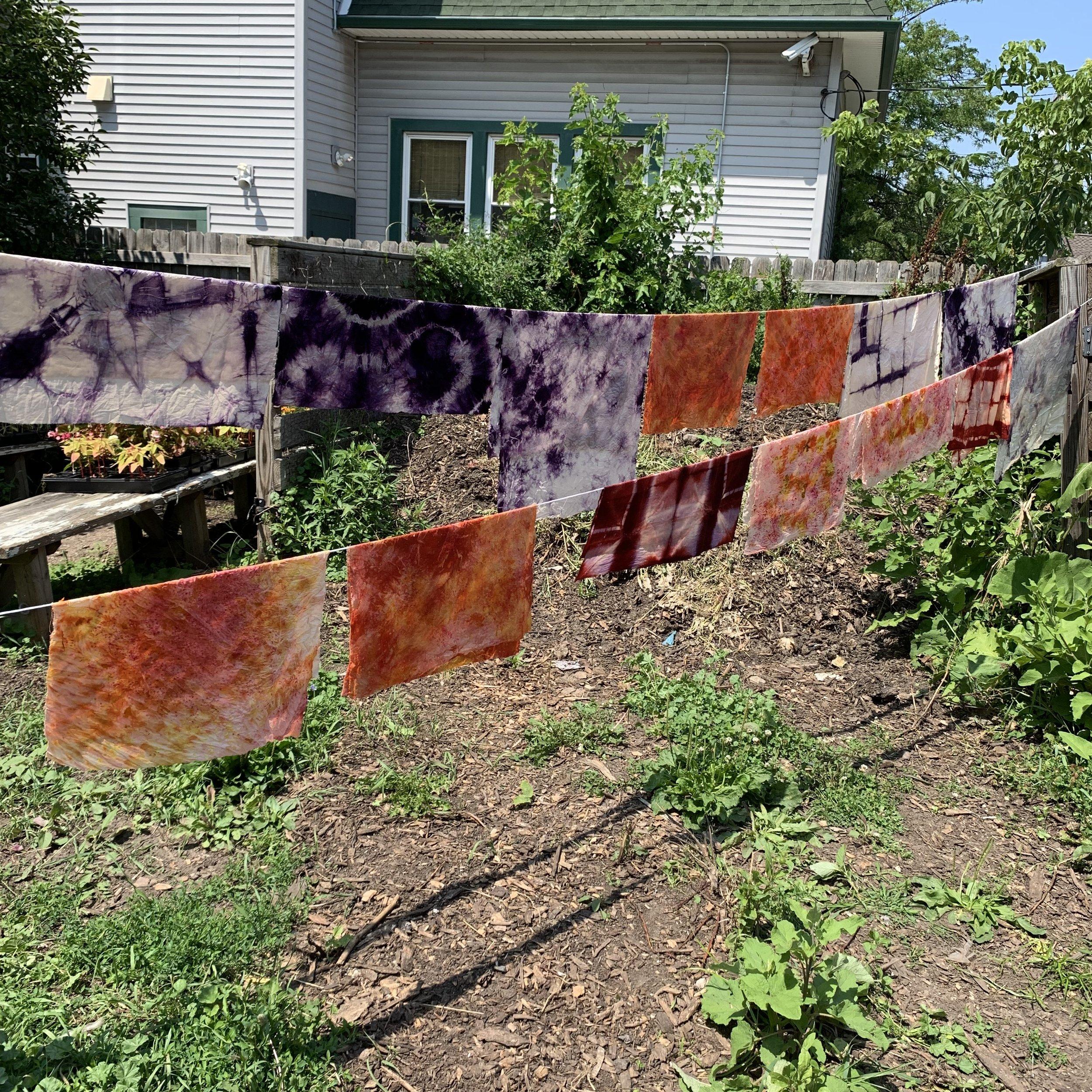 Natural and Bundle Dye