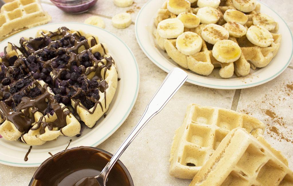 My Favorite Vegan Waffles