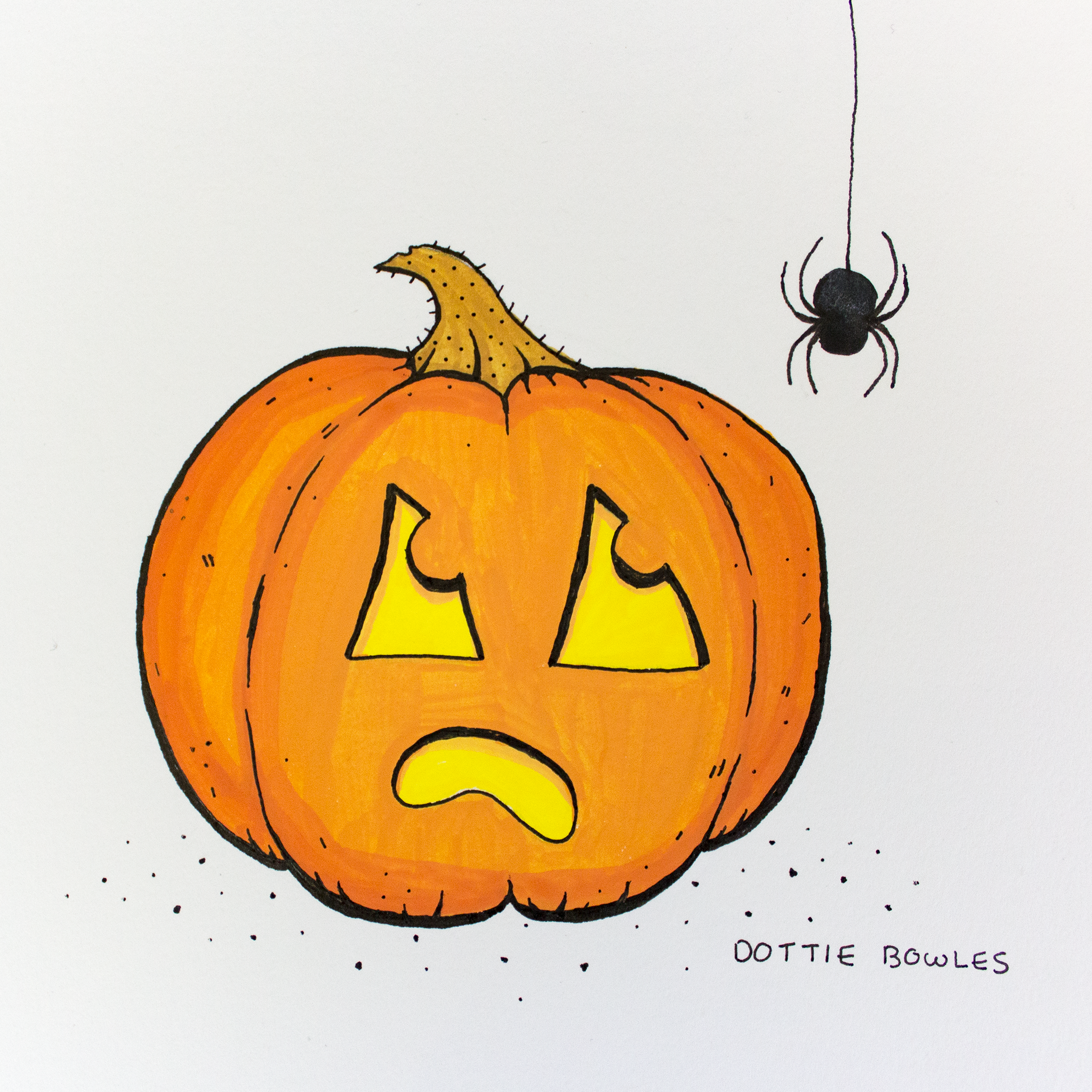 Inktober 2018 Day 1 Poisonous by Dottie Bowles