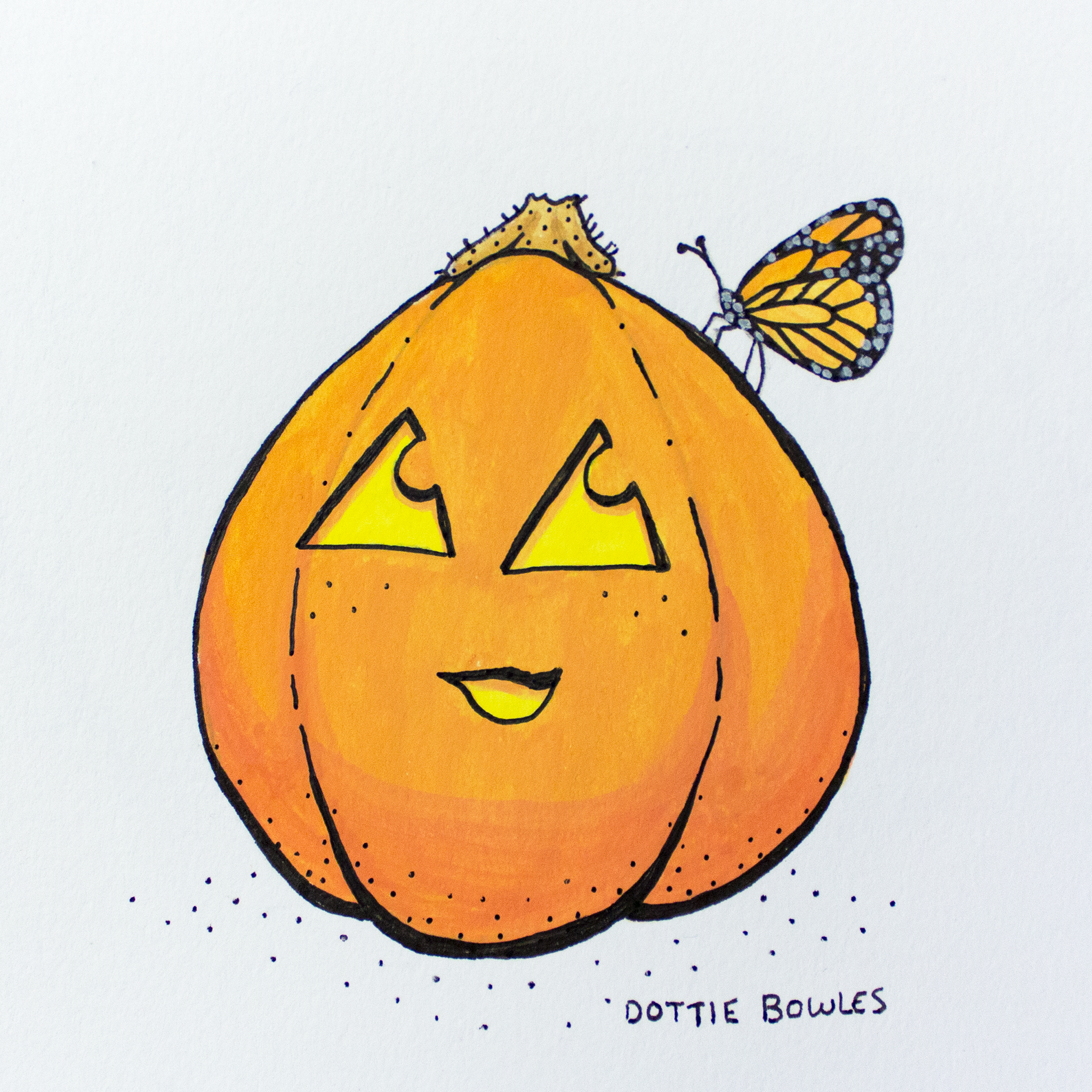 Inktober 2018 Day 9 Precious by Dottie Bowles