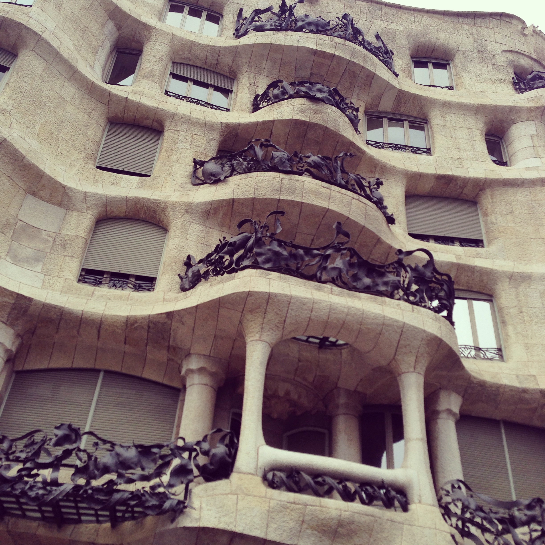Gaudi's Barcelona.