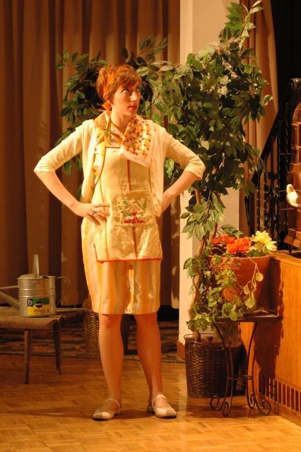 Clarina,  Il cambiale di matrimoni  Boston Opera Collaborative, 2009 photo credit: Justin Bates